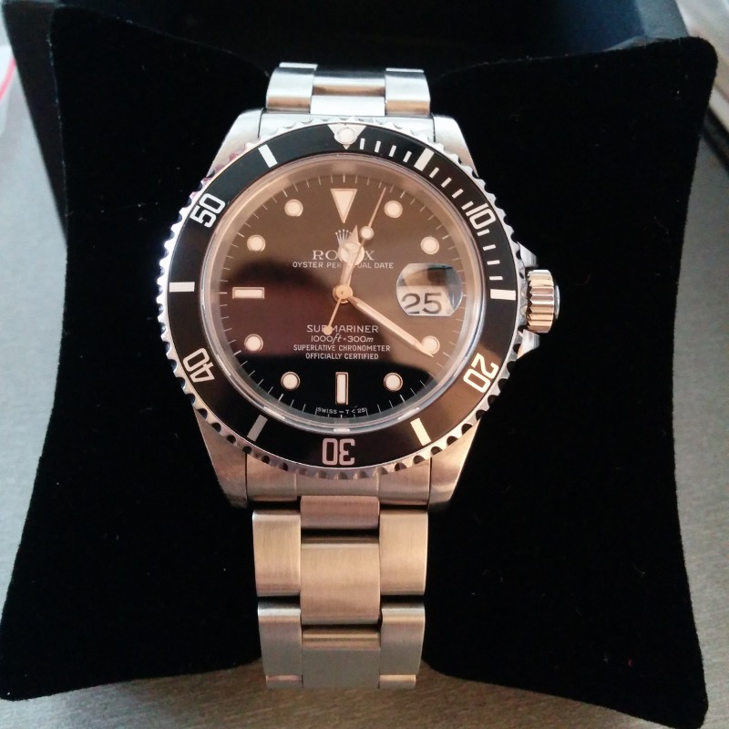 Photo d'une Rolex submariner