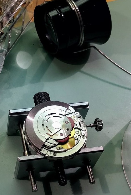 Photo d'une masse automatique d'une montre Rolex
